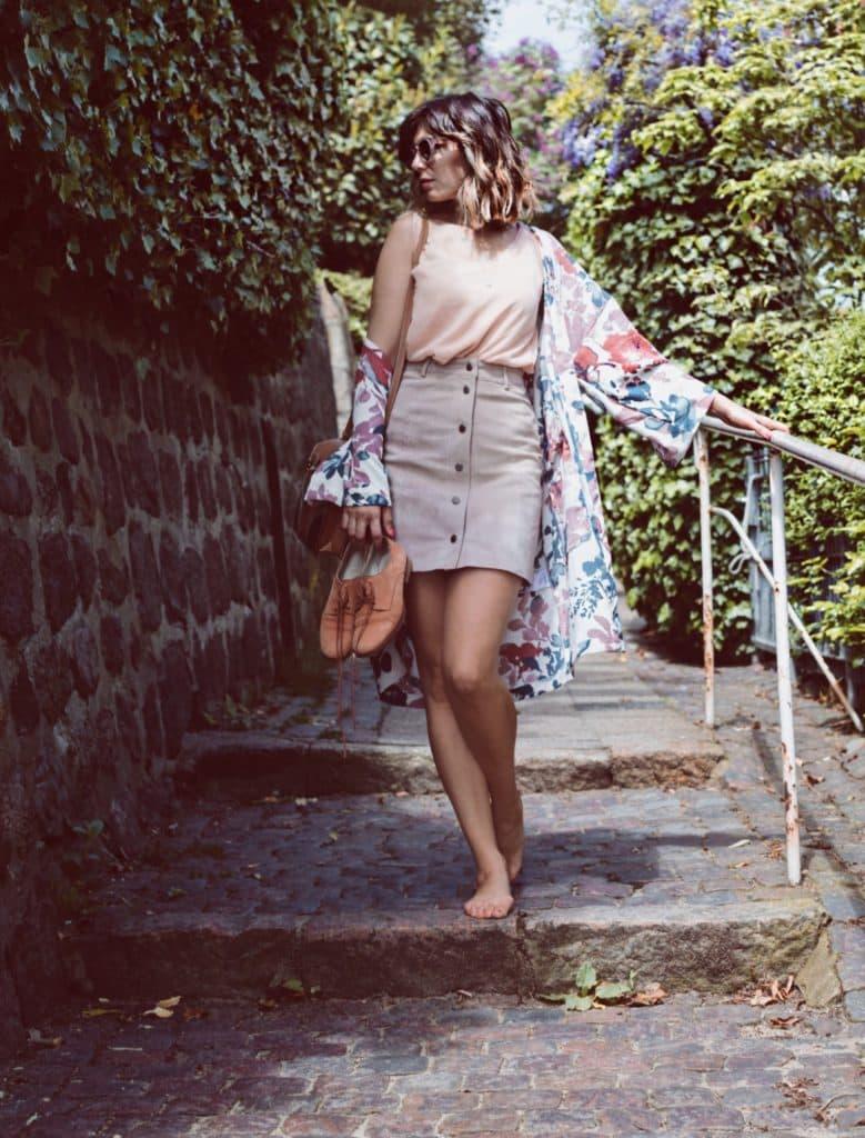 Kimono vorn