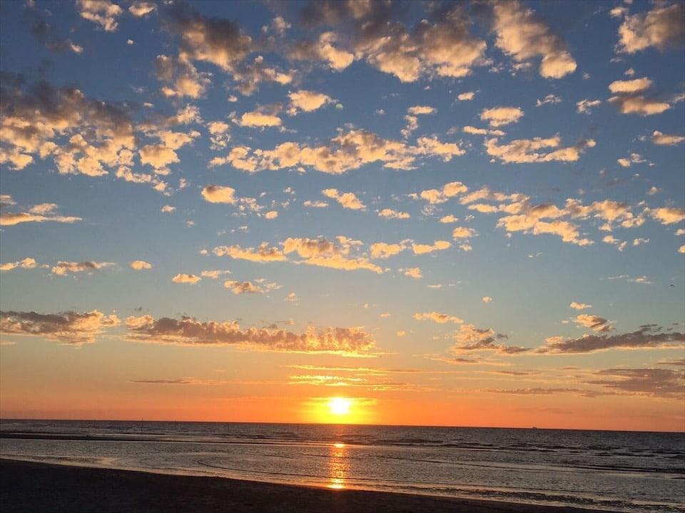 Sonnenuntergang Spiekeroog