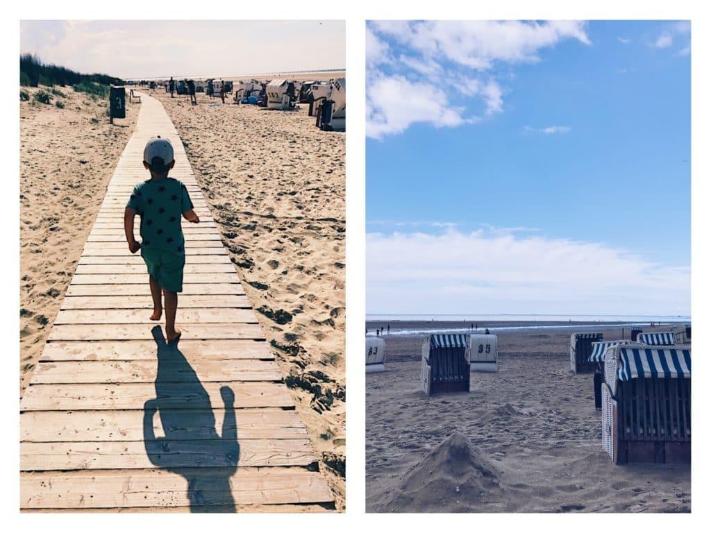 Emil Spiekeroog strand