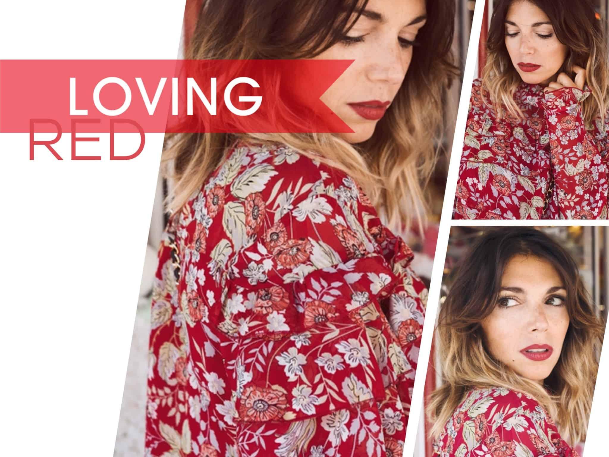 Rot, rot, rot sind alle meine Kleider  BONPRIX • Anna Wolfers