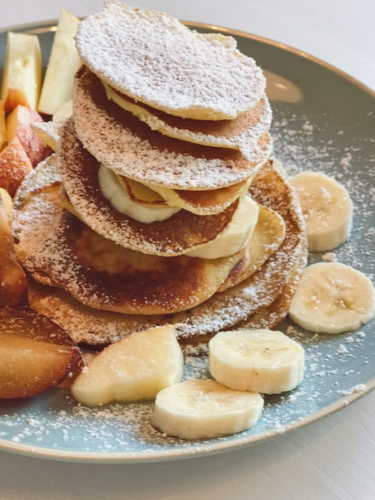 pancakes auf Teller