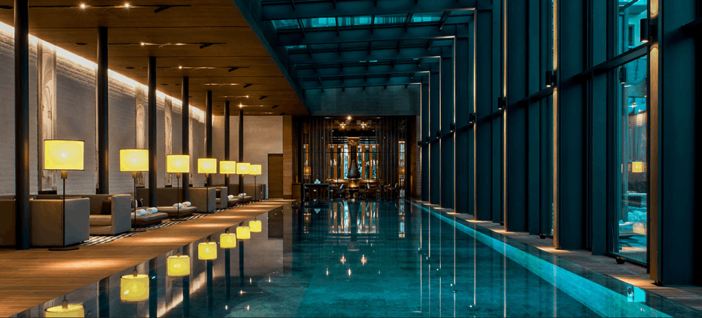 Hotelpool the Chedi