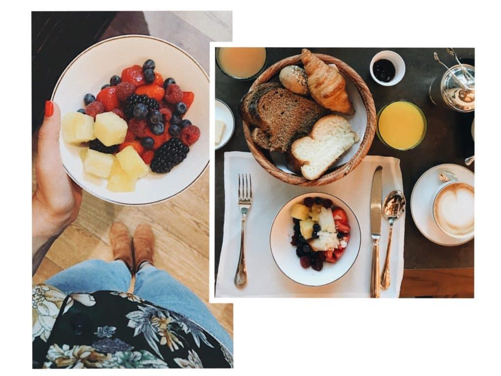 frühstück The Chedi