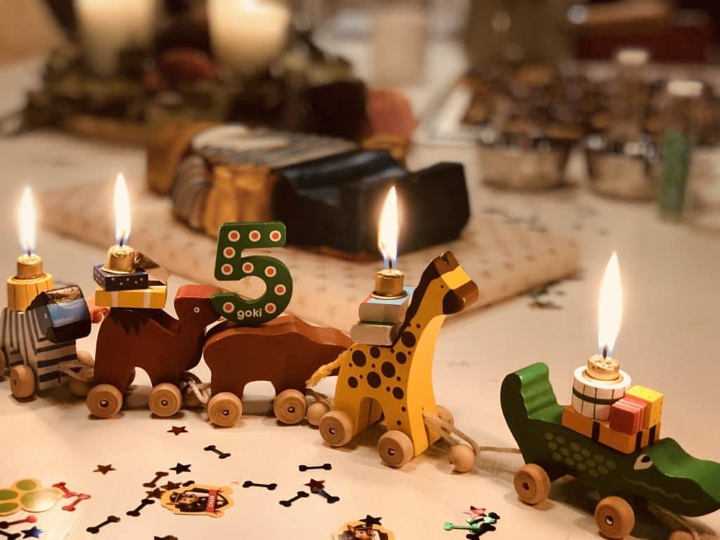 Geburtstagstisch Hasennase