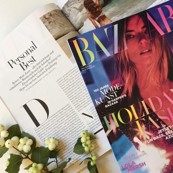 Harpers Bazaar titel