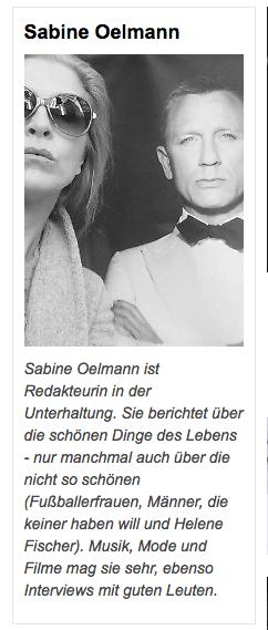 Sabine Oelzen Bio