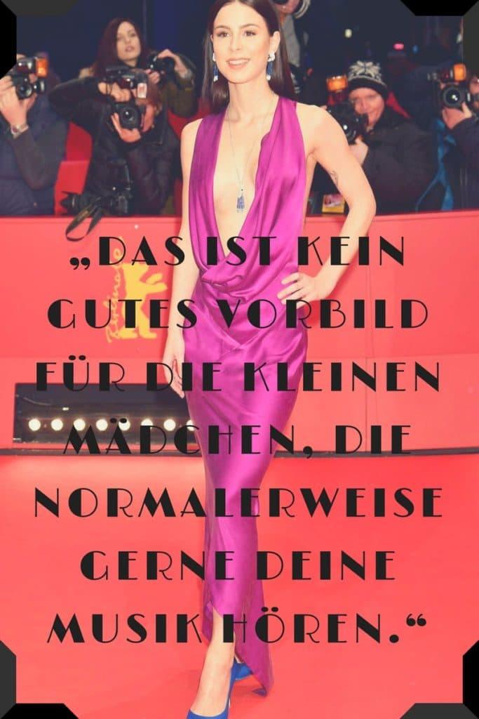 Lena Meyer-Landrut auf dem Red carpet