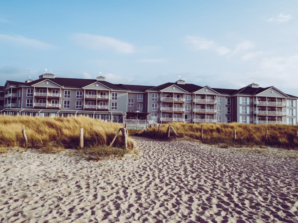 Beach Motel Strandseite