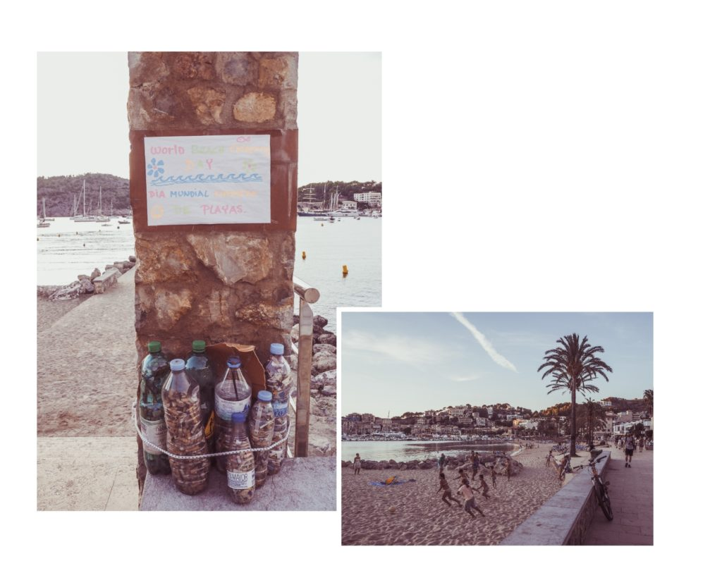 Clean you beach Soller