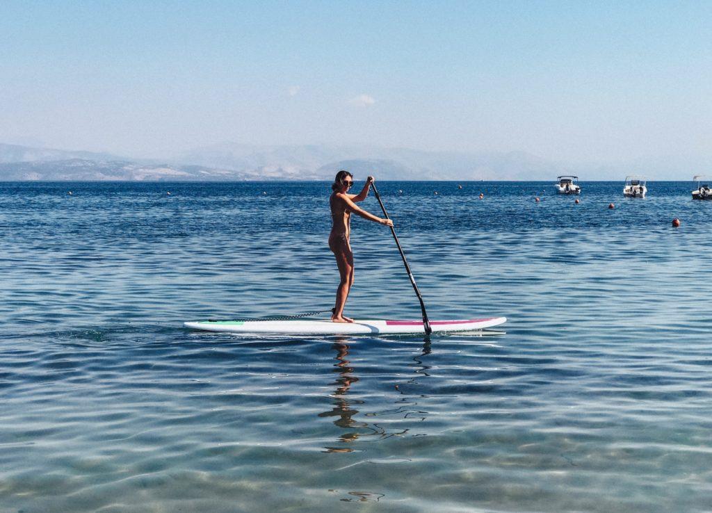 SUP Ikos beach