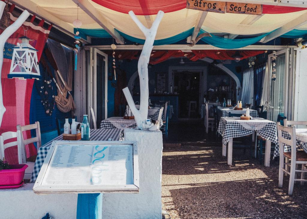 strandcafe korfu ikos