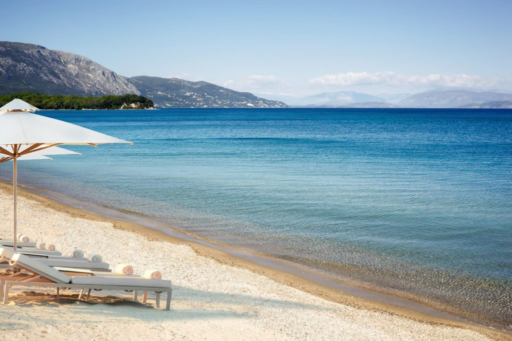 strand vom Ikos Resort