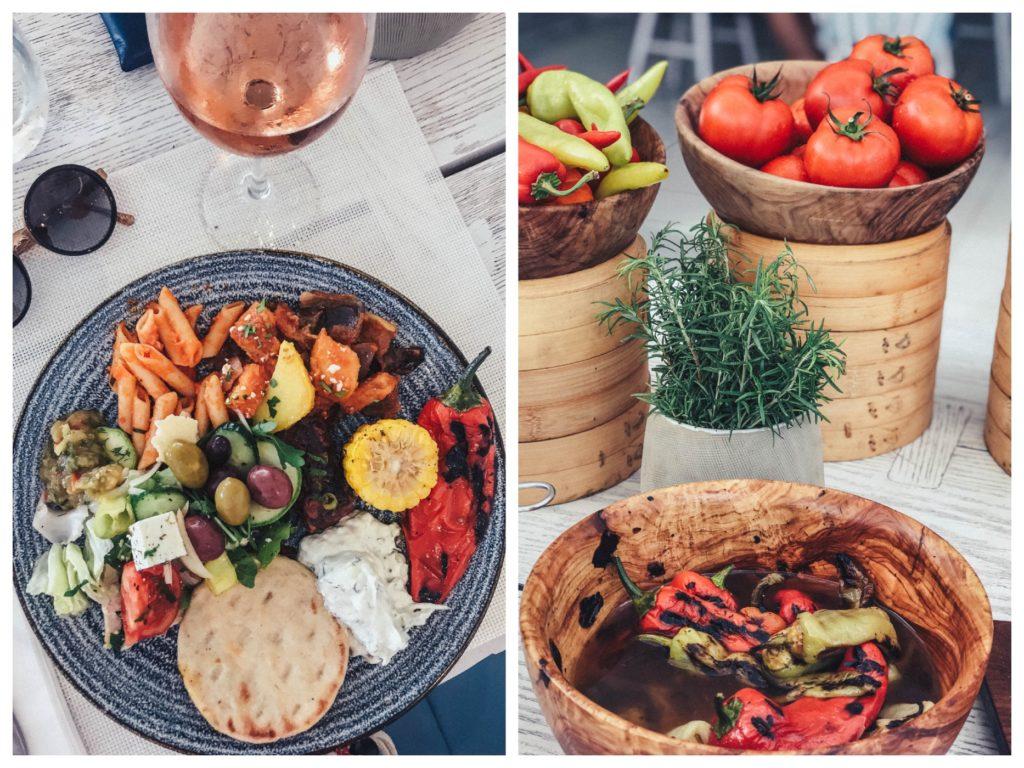 griechisches buffet im ikos