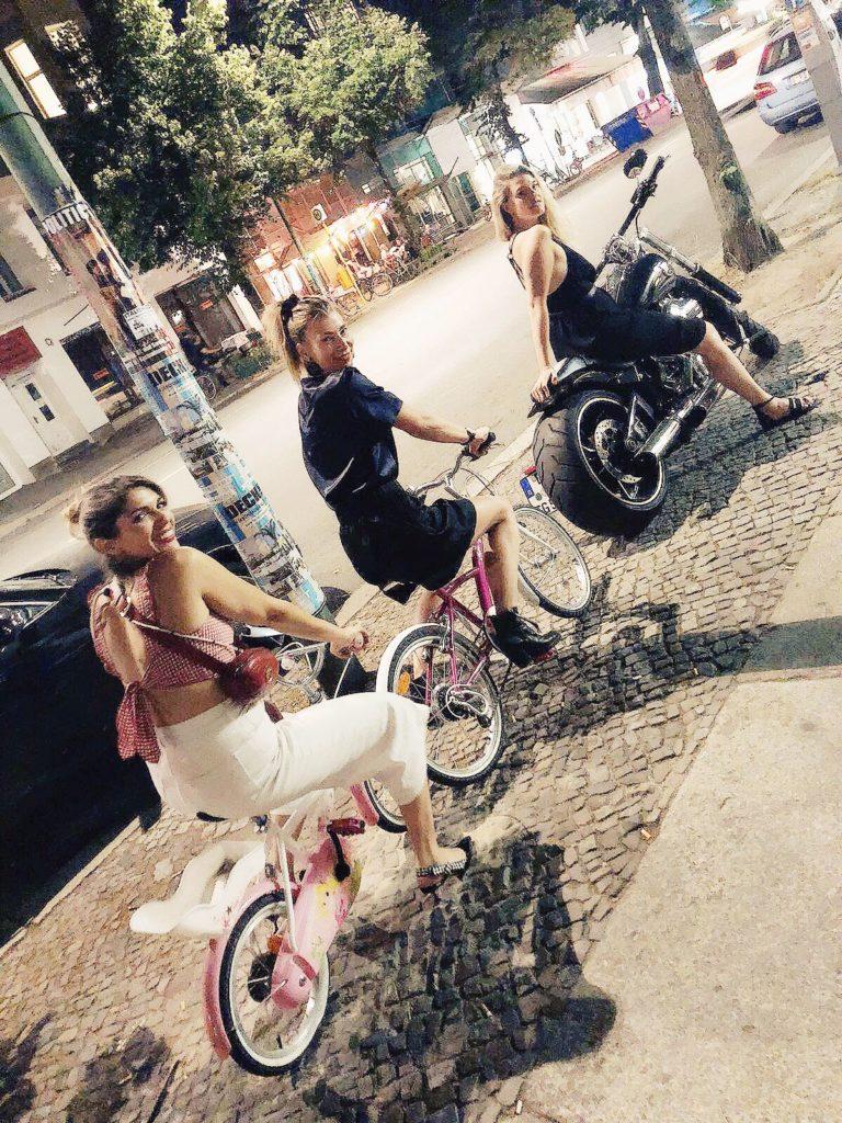 Tina, Anna-Lena und ich