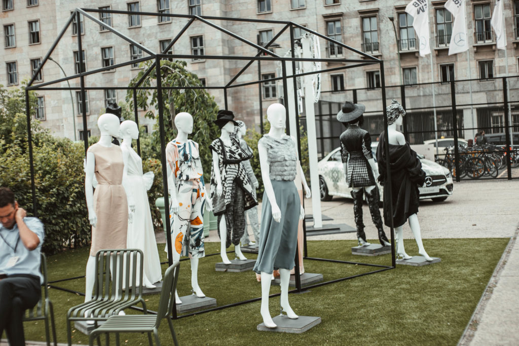 Mercedes Benz Fashion week Lokation