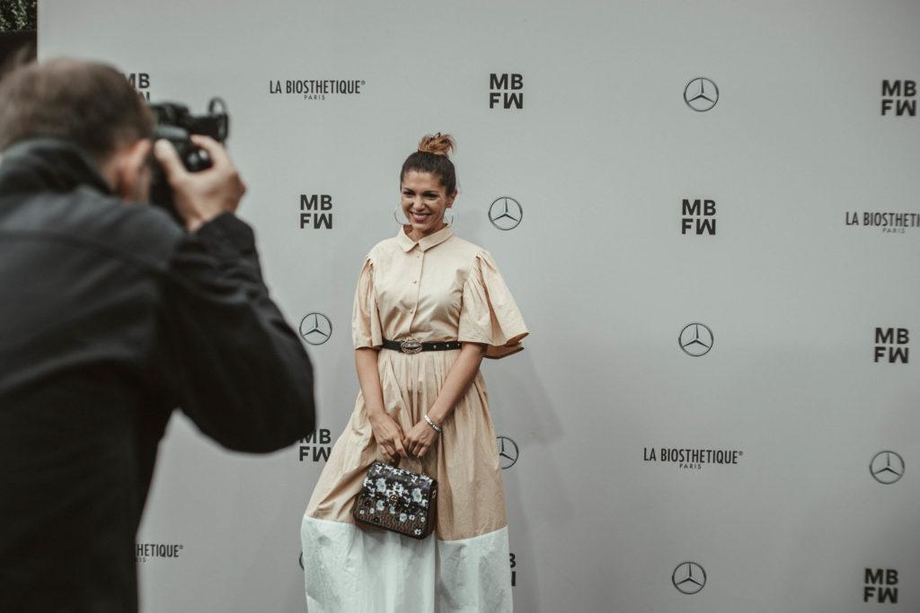 Fashionweek red Carpet Rebekka Ruetz