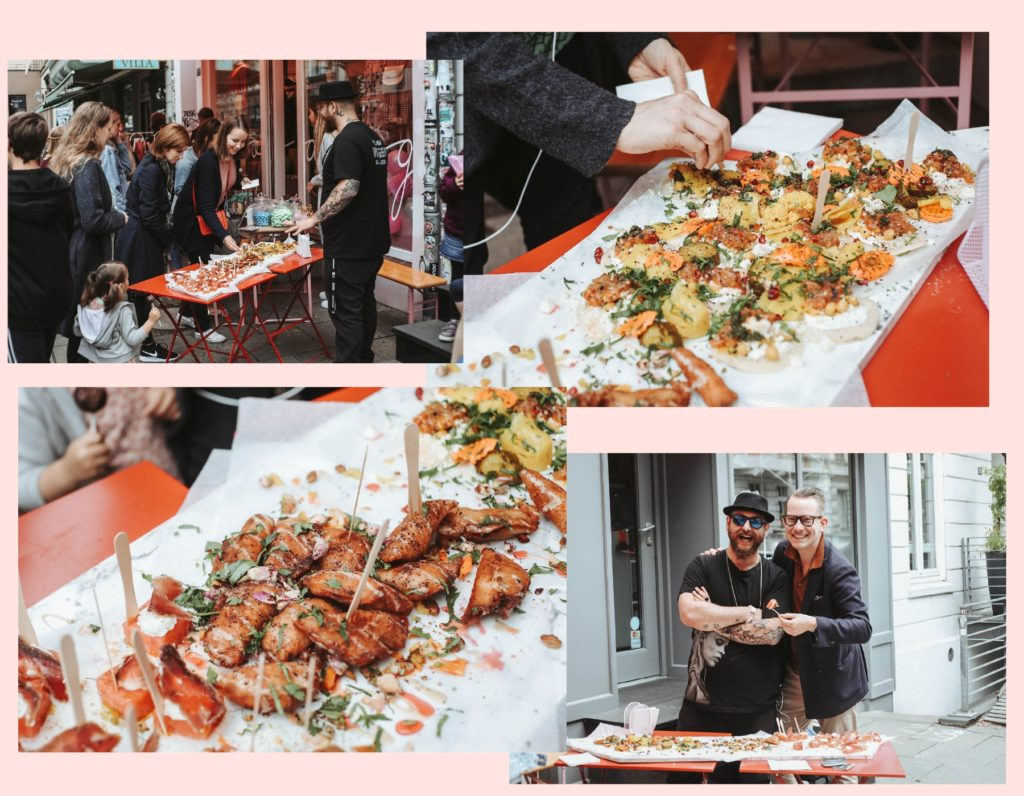 Street Food beim ikea event im goldig