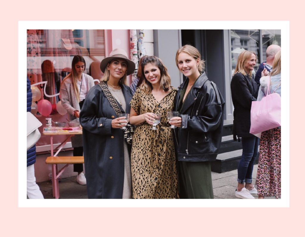 Aylin könig, Shophisticated und Anna Wolfers, Ikea Event Goldig