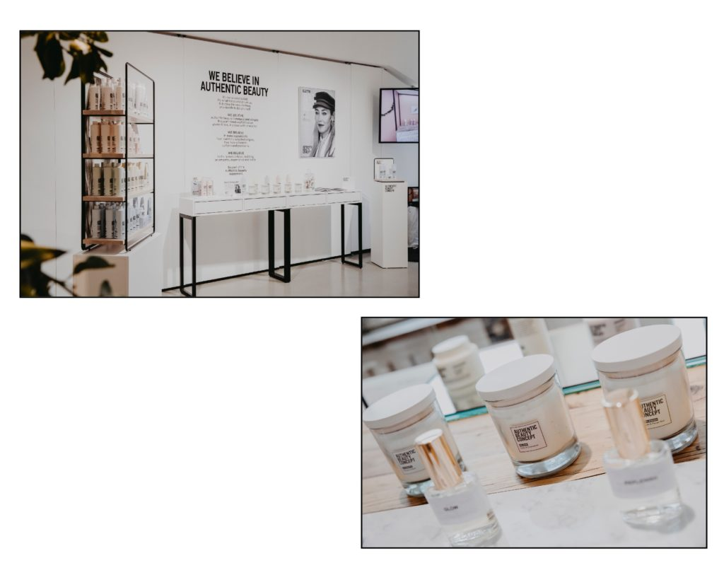 Authentic beauty concept Launchevent in Berlin