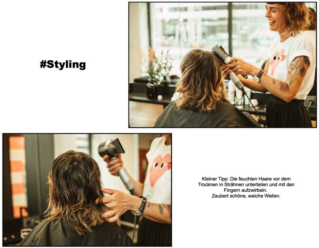 Styling mit Authentic Beauty Concept Produkten